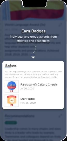 12 Earn Badges
