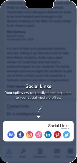 14 Social links