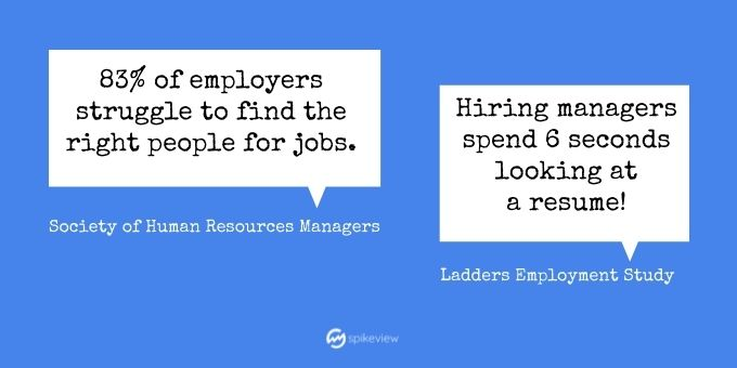 do hiring managers care about a resume
