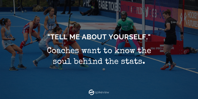 college coaches & recruiters use spikeview to evaluate athletes because they want to know the soul behind the stats